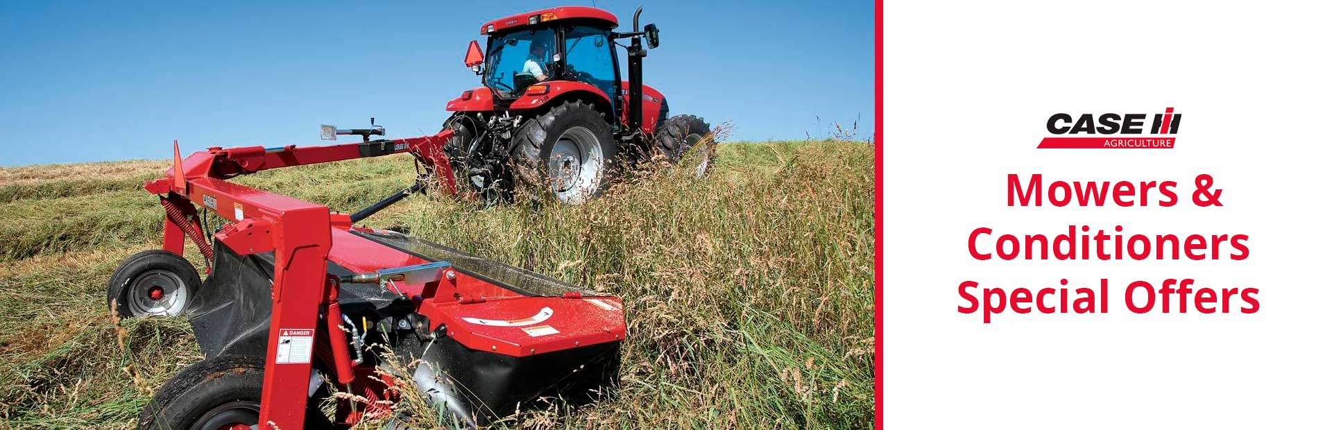 Case IH: Mowers & Conditioners Special Offers